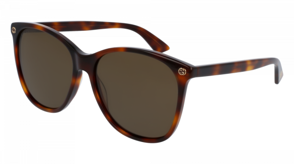 GUCCI GG0024S style-color Havana 002 / Brown None Lens
