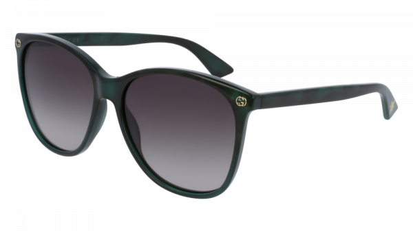 GUCCI GG0024S style-color Green 004 / Brown Gradient Lens