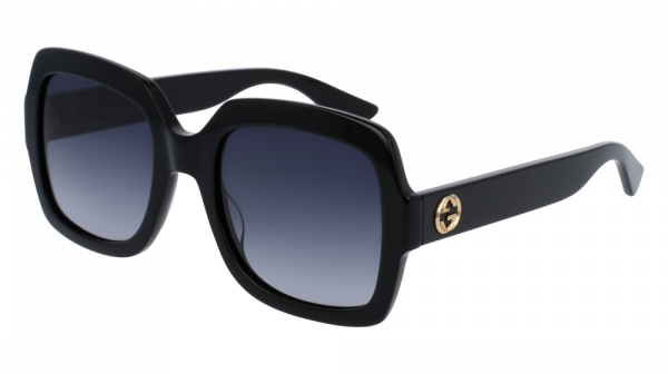 GUCCI GG0036S style-color Black 001 / Grey Gradient Lens