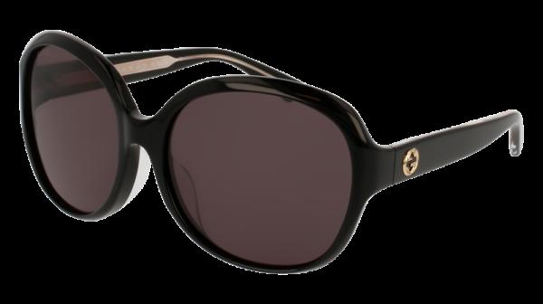 GUCCI GG0080SK style-color Black 001 / Grey None Lens