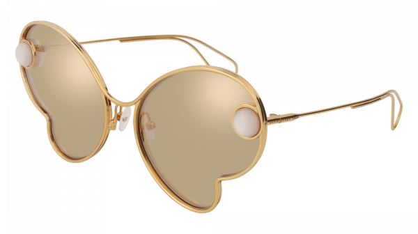 CHRISTOPHER KANE CK0016S style-color Gold 002 / WHITE Lens