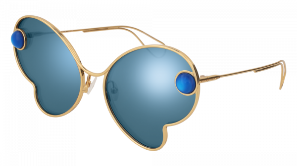 CHRISTOPHER KANE CK0016S style-color Gold 003 / BLUE Lens