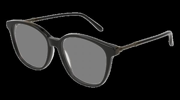 BOTTEGA VENETA BV0137O style-color Black/RUTHENIUM 001