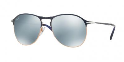 PERSOL PO7649S style-color 107330 Blue / Bronze