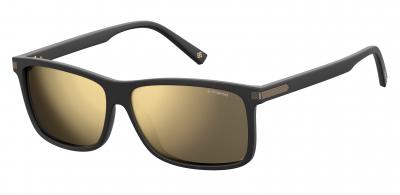 POLAROID CORE PLD 2075/S/X style-color Matte Black 0003 / Gray Gold Mirror LM Lens