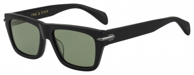 RAG & BONE RNB 5025/G/S style-color Black 0807 / Green Polarized UC Lens