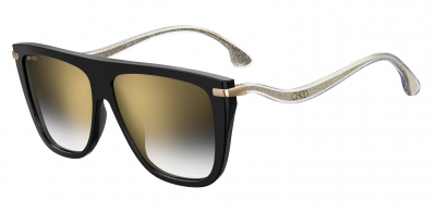 JIMMY CHOO SUVI/S style-color Black 0807 / Gray Sf Gold Sp FQ Lens