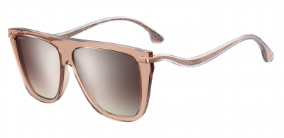 JIMMY CHOO SUVI/S style-color Nude 0FWM / Brown Mirror Gradient NQ Lens