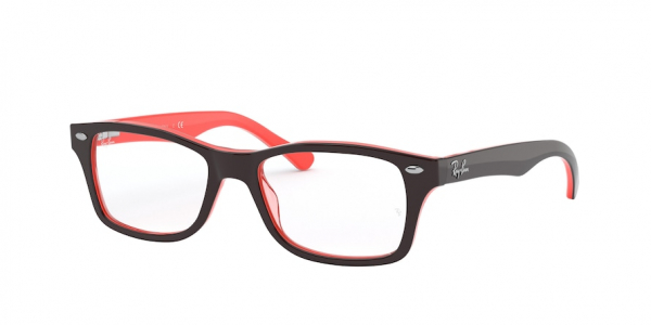 RAY-BAN RY1531 style-color 3840 Top Opal Brown / Transp Rose