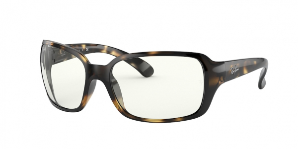 RAY-BAN RB4068 style-color 710/B5 Shiny Havana / clear Lens