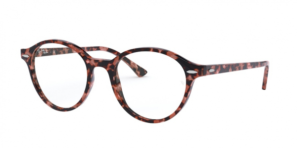 RAY-BAN RX7118 DEAN style-color 8064 Shiny Pink Havana