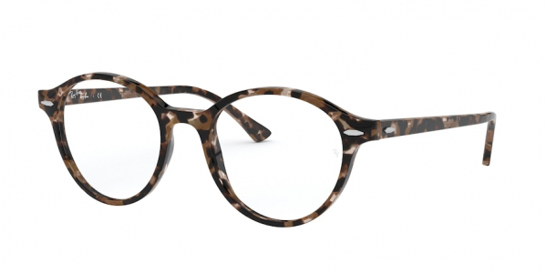 RAY-BAN RX7118 DEAN style-color 8065 Shiny Brown Havana