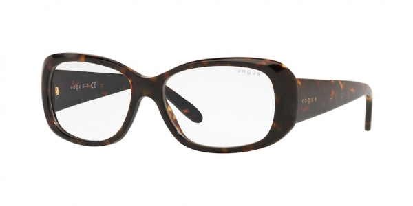 VOGUE VO2606S style-color W6565X Dark Havana / clear+ar Lens