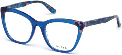 GUESS GU2674 2487 style-color 090 Shiny Blue