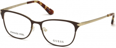 GUESS GU2638 2142 style-color 049 Matte Dark Brown