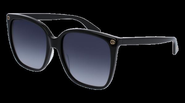 GUCCI GG0022S style-color Black 001 / Grey Gradient Lens
