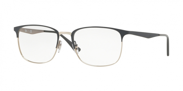 RAY-BAN RX6421 style-color 3004 Silver ON Top Grey