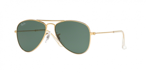 RAY-BAN RJ9506S JUNIOR AVIATOR style-color 223/71 Gold / green Lens