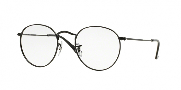 RAY-BAN RX3447V ROUND METAL style-color 2503 Matte Black