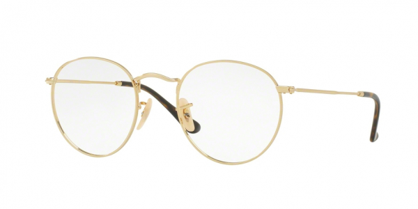 RAY-BAN RX3447V ROUND METAL style-color 2500 Gold