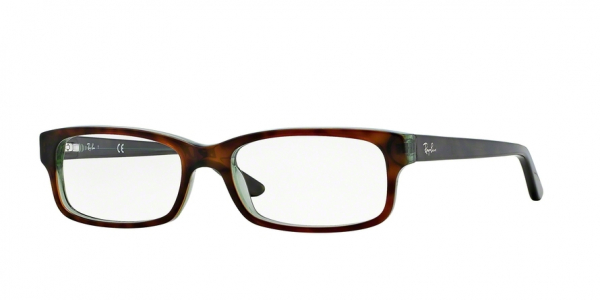 RAY-BAN RX5187 style-color 2445 Havana / Green