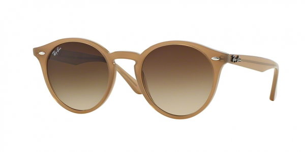 RAY-BAN RB2180 style-color 616613 Turtledove / brown gradient Lens