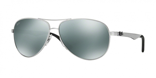 RAY-BAN RB8313 CARBON FIBRE style-color 003/40 Silver / grey mirror Lens