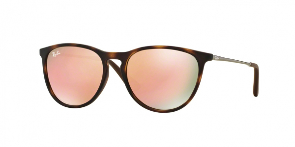 RAY-BAN RJ9060S style-color 70062Y Havana Rubber / light brown mirror pink Lens