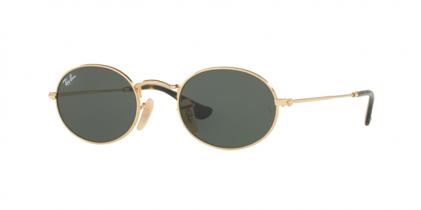 RAY-BAN RB3547N OVAL style-color 001 Gold / green Lens