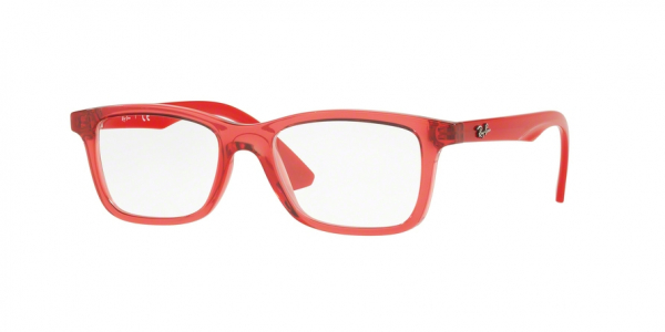 RAY-BAN RY1562 style-color 3687 Trasparent Red