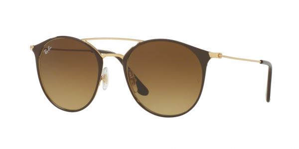 RAY-BAN RB3546 style-color 900985 Gold Top Brown