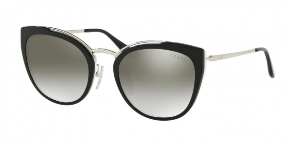 PRADA PR 20US style-color 4BK5O0 Silver / Black / Ivory