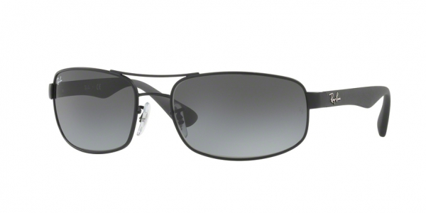 RAY-BAN RB3445 style-color 006/11 Matte Black / gray gradient Lens