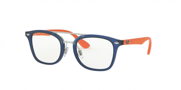 RAY-BAN RY1585 style-color 3780 Matte Transparent Blue