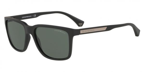 EMPORIO ARMANI EA4047 style-color 575871 Black Rubber