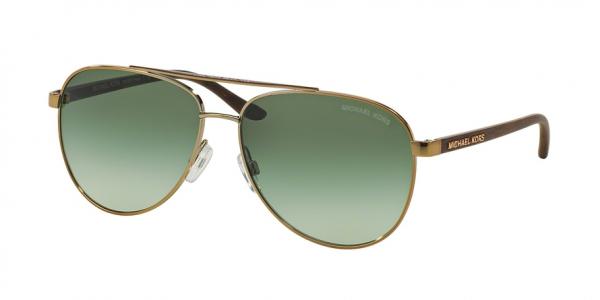 MICHAEL KORS MK5007 HVAR style-color 10432L Gold Wood / green gradient Lens