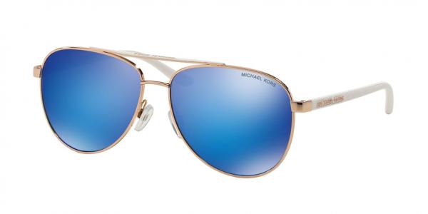MICHAEL KORS MK5007 HVAR style-color 104525 Rose Gold White / blue mirror Lens