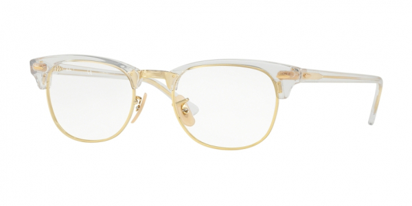 RAY-BAN RX5154 CLUBMASTER style-color 5762 Transparent