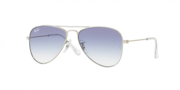 RAY-BAN RJ9506S JUNIOR AVIATOR style-color 212/19 Silver / clear gradient light blue Lens