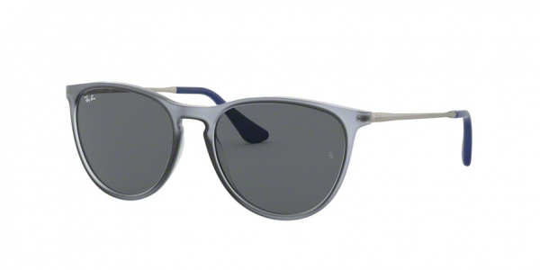 RAY-BAN RJ9060S style-color 705887 Rubber Trasparent Grey / dark grey Lens
