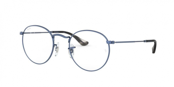 RAY-BAN RX3447V ROUND METAL style-color 3071 Sand Trasparent Blu
