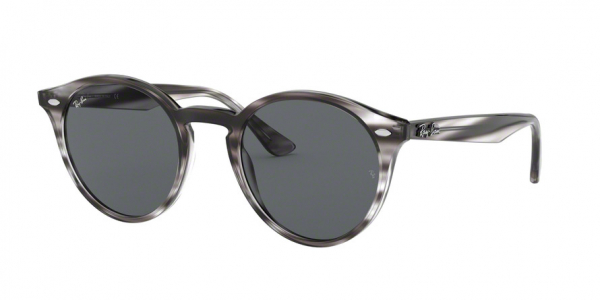 RAY-BAN RB2180 style-color 643087 Stripped Grey Havana / dark grey Lens