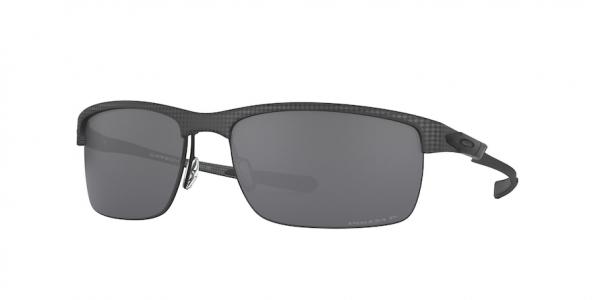 OAKLEY OO9174 CARBON BLADE style-color 917409 Matte Carbon Fiber / prizm black polarized Lens