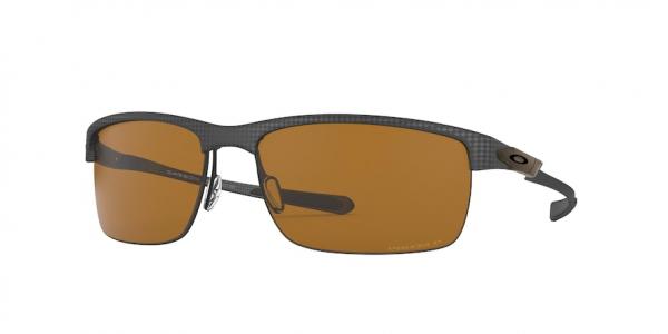 OAKLEY OO9174 CARBON BLADE style-color 917410 Matte Carbon Fiber / prizm tungsten polarized Lens