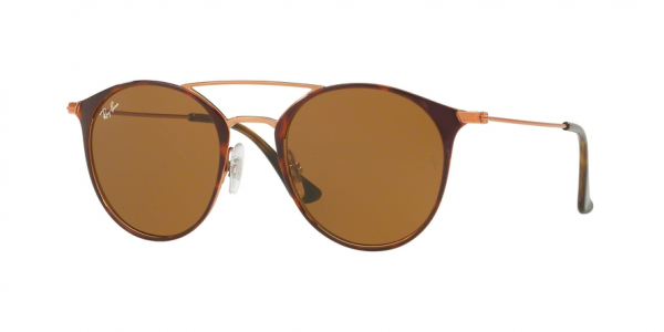 RAY-BAN RB3546 style-color 9074 Copper ON Top Havana