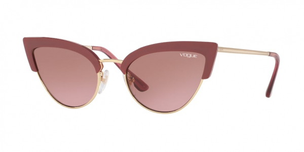 VOGUE VO5212S style-color 279814 Opal Cherry / pink gradient brown Lens