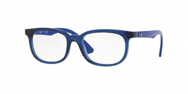 RAY-BAN RY1584 style-color 3686 Transparent Blue