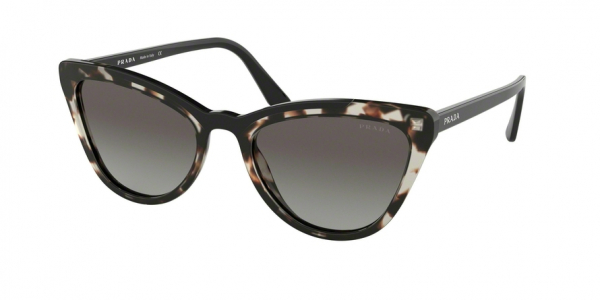 PRADA PR 01VS CONCEPTUAL style-color 3980A7 Opal Spotted Brown / Black
