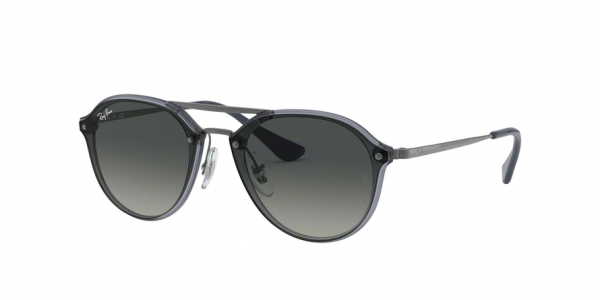 RAY-BAN RJ9067SN style-color 705011 Trasparent Blue