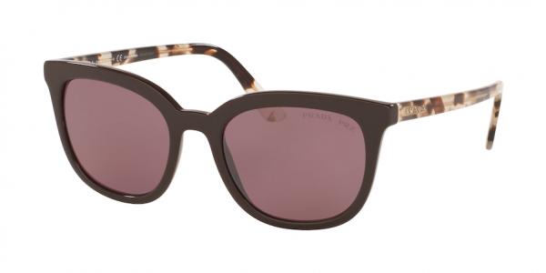 PRADA PR 03XS style-color DHO04C Brown / polar pink mirror flash silver Lens
